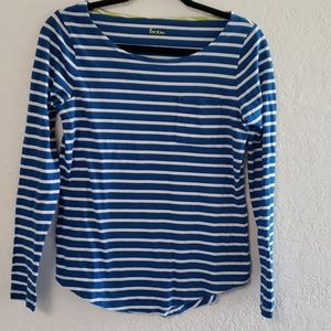 Comfortable long sleeved Boden top size 6